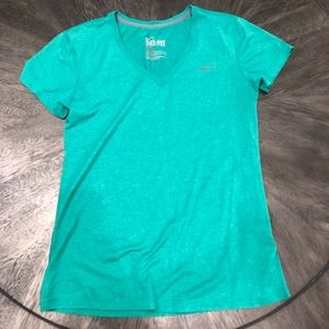 Dry fit Green T